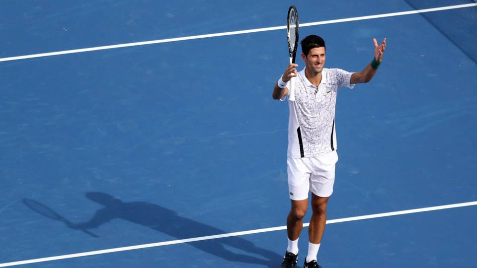 Novak Djokovic makes history with Masters clean sweep in Cincinnati