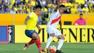 Christian Cueva Ecuador v Perú Eliminatorias sudamericanas 05092017