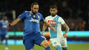 Gonzalo Higuaín Napoli Juventus 02042017