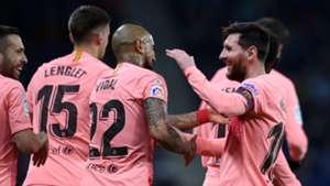 Lionel Messi Barcelona LaLiga 12082018