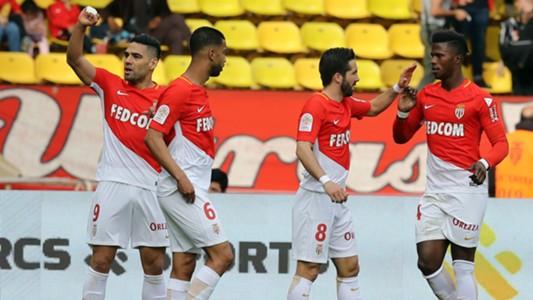 Radamel Falcao García Monaco v Nantes 11082018