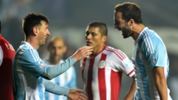 Lionel Messi and Gonzalo Higuain were long-time team-mates with Argentina