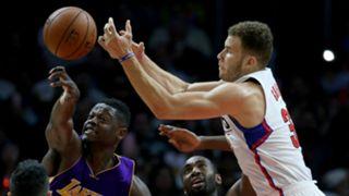 Blake Griffin LA Clippers vs LA Lakers NBA 05042016