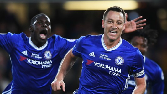 John Terry Chelsea Watford Premier League 15052017