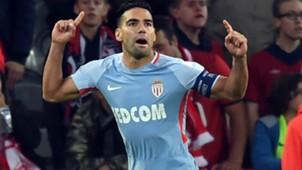 Radamel Falcao Lille v Monaco Ligue 1 21092017