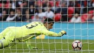 Thibaut Courtois Chelsea v Tottenham Hotspur The Emirates FA Cup semifinal 22042017