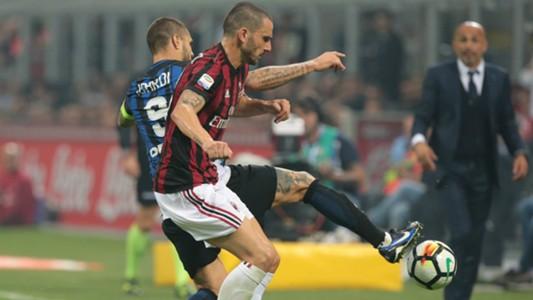 Mauro Icardi Inter v Milan Serie A 15102017