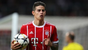 James Rodriguez Real Madrid v Bayern Muenchen UEFA Champions League 01052018