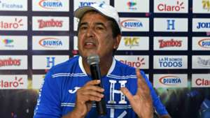 Jorge Luis Pinto press conference in San Pedro Sula 09102017