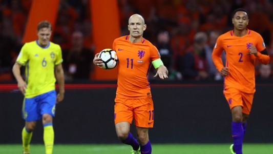 Arjen Robben Netherlands vs Sweden EWCQ 10102017