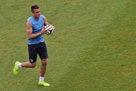 Jose Maria Gimenez Uruguay's training session 23062014