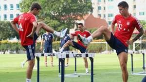 James Rodriguez Thomas Muller FC Bayern Muenchen Audi Summer Tour Day 9 24072017