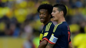 Juan Cuadrado James Rodriguez Ecuador v Colombia WC qualifying south america 28032017