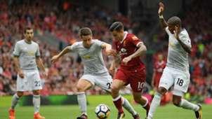 Liverpool vs Manchester United Premier League 14102017
