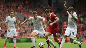 Liverpool vs Manchester United Premier League 14102017