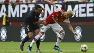 Carvajal and Mehut Ozil Real Madrid vs Arsenal ICC 07232019