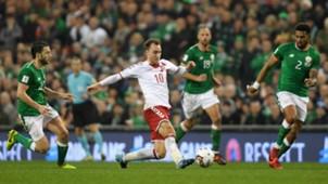 Christian Eriksen Ireland v Denmark Euro Qualyfiers 14112017