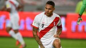 Paolo Guerrero Perú v Colombia Eliminatorias sudamericanas 10102017