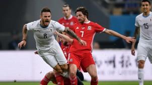 Wales v Uruguay China Cup International Football Championship 26032018