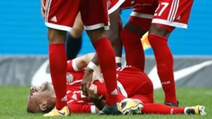 Franck Ribery Bayern Munich vs Herta Berlín Bundesliga 01102017