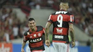 Miguel Trauco Flamengo v San Lorenzo Copa Bridgestone 08032017