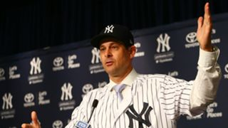 Aaron Boone New York Yankees Introduce As Manager 06122017
