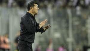 Jorge Almiron Colo Colo v Atletico Nacional Copa Libertadores 27022018