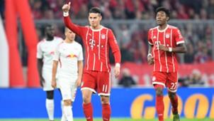 James Rodriguez Bayern Munich v Lanus Bundesliga 28102017
