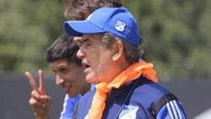 Jorge Luis Pinto Millonarios training session