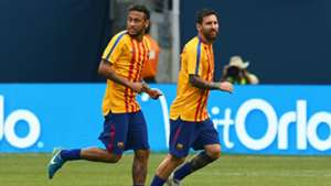 Barcelona training session in New Jersey 22072017