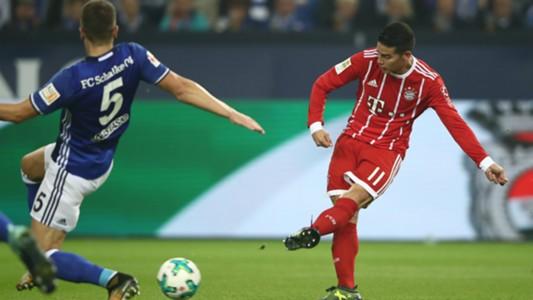 James Rodriguez FC Schalke 04 v FC Bayern Muenchen Bundesliga 19092017
