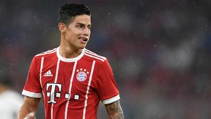 James Rodriguez Bayern Muenchen v Liverpool FC Audi Cup 01082017