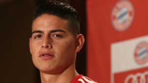 James Rodriguez press conference during the FC Bayern AUDI Summer Tour 27072018