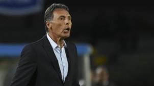 Miguel Angel Russo Independiente Santa Fe v Millonarios Copa Sudamericana 02102018