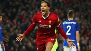Van Dijk Liverpool Everton 05012018