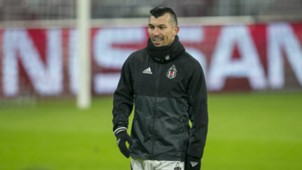 Gary Medel Besiktas Training And Press Conference 19022018