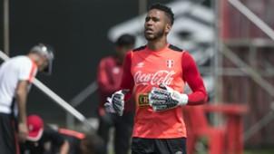 Pedro Gallese Entrenamiento Selección peruana 12112016