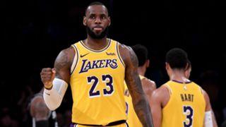 LeBron James Lakers vs Spurs 22102018