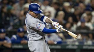 Manny Machado Los Angeles Dodgers MLB 08172018
