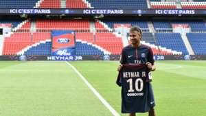 Neymar Presentación PSG Parque de los Príncipes 04082017