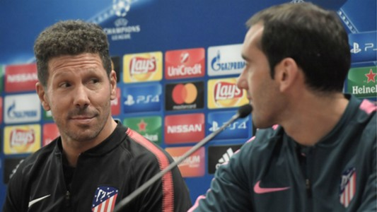 Diego Simeone Diego Godin Atletico de Madrid press conference 11092017