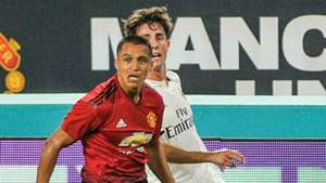 Alexis Sanchez Manchester United v Real Madrid International Champions Cup 07312018