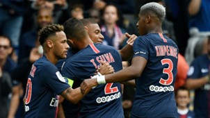 Neymar PSG vs Angers Ligue 1 25082018