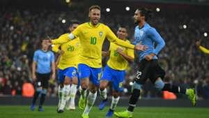 Neymar Brazil v Uruguay Friendly 16112018