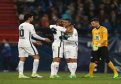 Ben Arfa Moura y Pastore PSG 4 vs Avranches 0 Copa de Francia 05042017