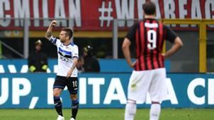 Alejandro Papu Gómez Atalanta v Milan 23092018