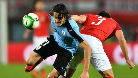 Edinson Cavani Uruguay v Austria 14112017