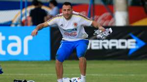 David Ospina Colombia training session 28082017