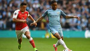 Arsenal v Manchester City The Emirates FA Cup Semifinal 23042017