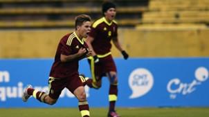 Yeferson Soteldo Venezuela vs Colombia Sudamericano Sub 20 30012017